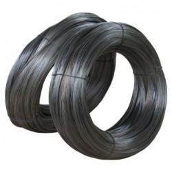 Fil d'attache noir (diam: 1,1mm ) **