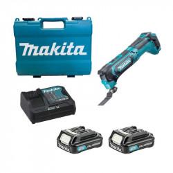 Decoupeuse ponceuse a batterie avec accessoire Réf: TM30DSAEX1 10.8 V-LI ** MAKITA