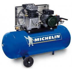compresseur 100L 10 BAR/2HP Réf: MB 100 ** MICHELIN