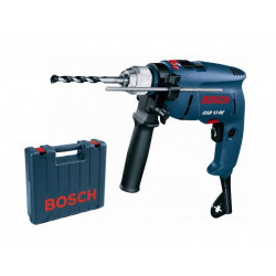 Perceuse a percussion 13 mm sur valise 600w gsb13re ** BOSCH