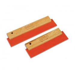 Raclette nettoyage rouge 25 cm ref 134 ** DEKOR