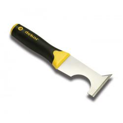 Couteau enduit multifonction proactiv acier ref 255 ** DEKOR