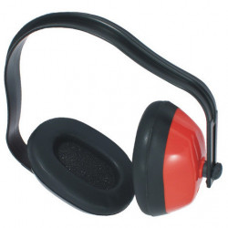 Stop bruit casque rouge  s/sach**